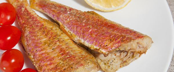 salmonetes fritos