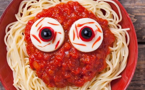 pasta con tomate terrorifica