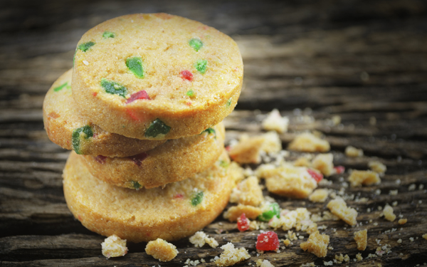 Galletas cookies con frutas