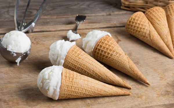 helado de nata