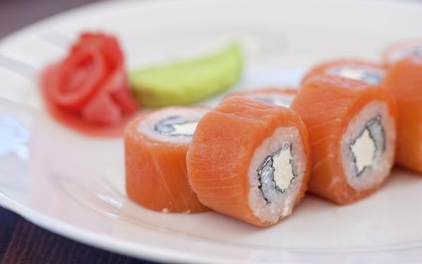 Sushi De Salmón Ahumado