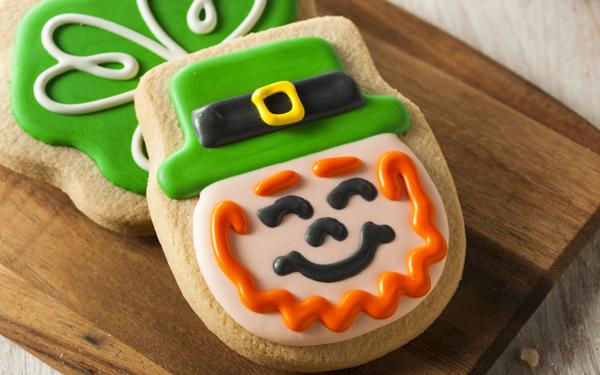 galletas de san patricio