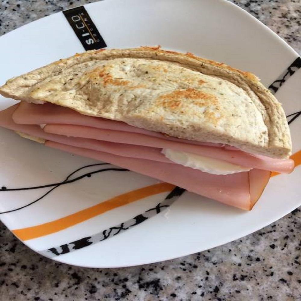 Pan de atún super proteico