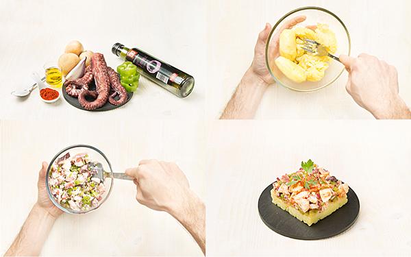 Salpicón de pulpo con patata