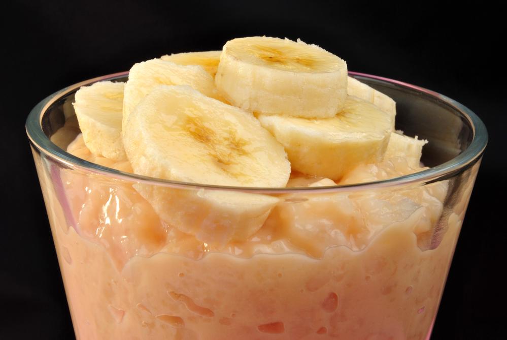 Budines de plátano y arroz