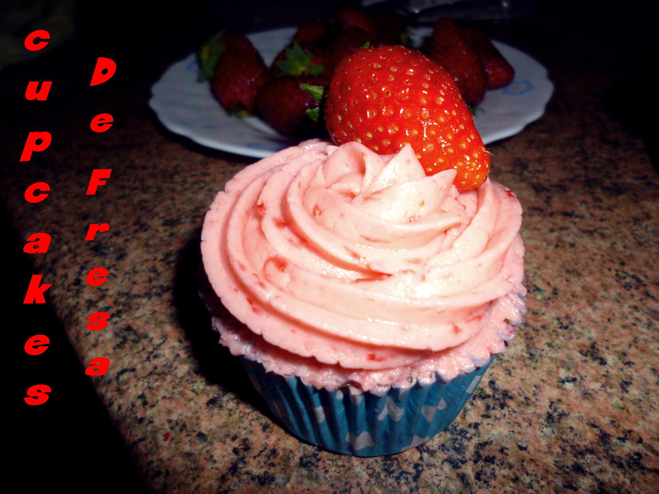 Cupcakes de fresa :)