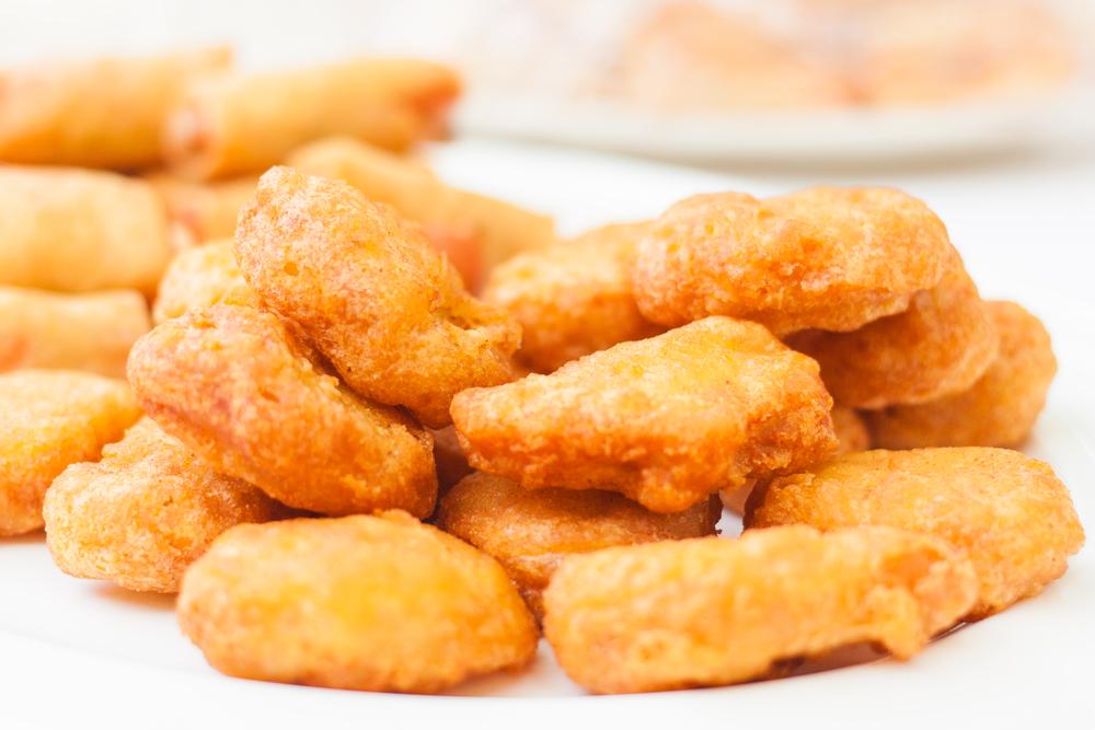Pechugas fritas de pollo al curry