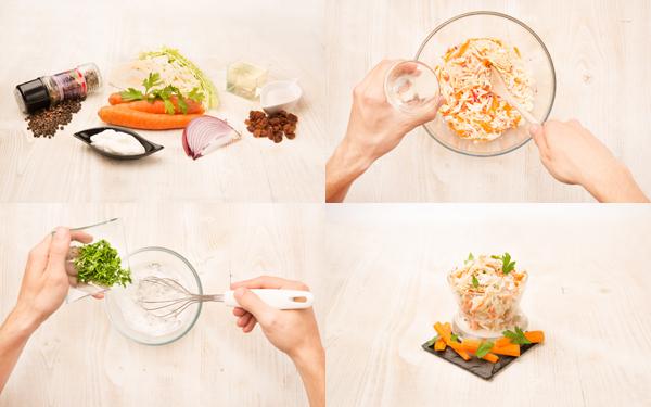 Coleslaw -ensalada de col-