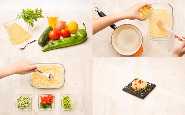 Taboule -ensalada de cuscús-