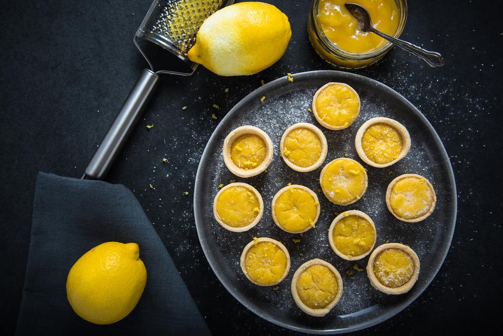 Crema pastelera con ralladura de limón