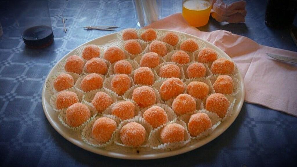 Trufas de zanahoria