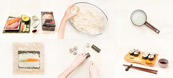 Sushi: makis variados