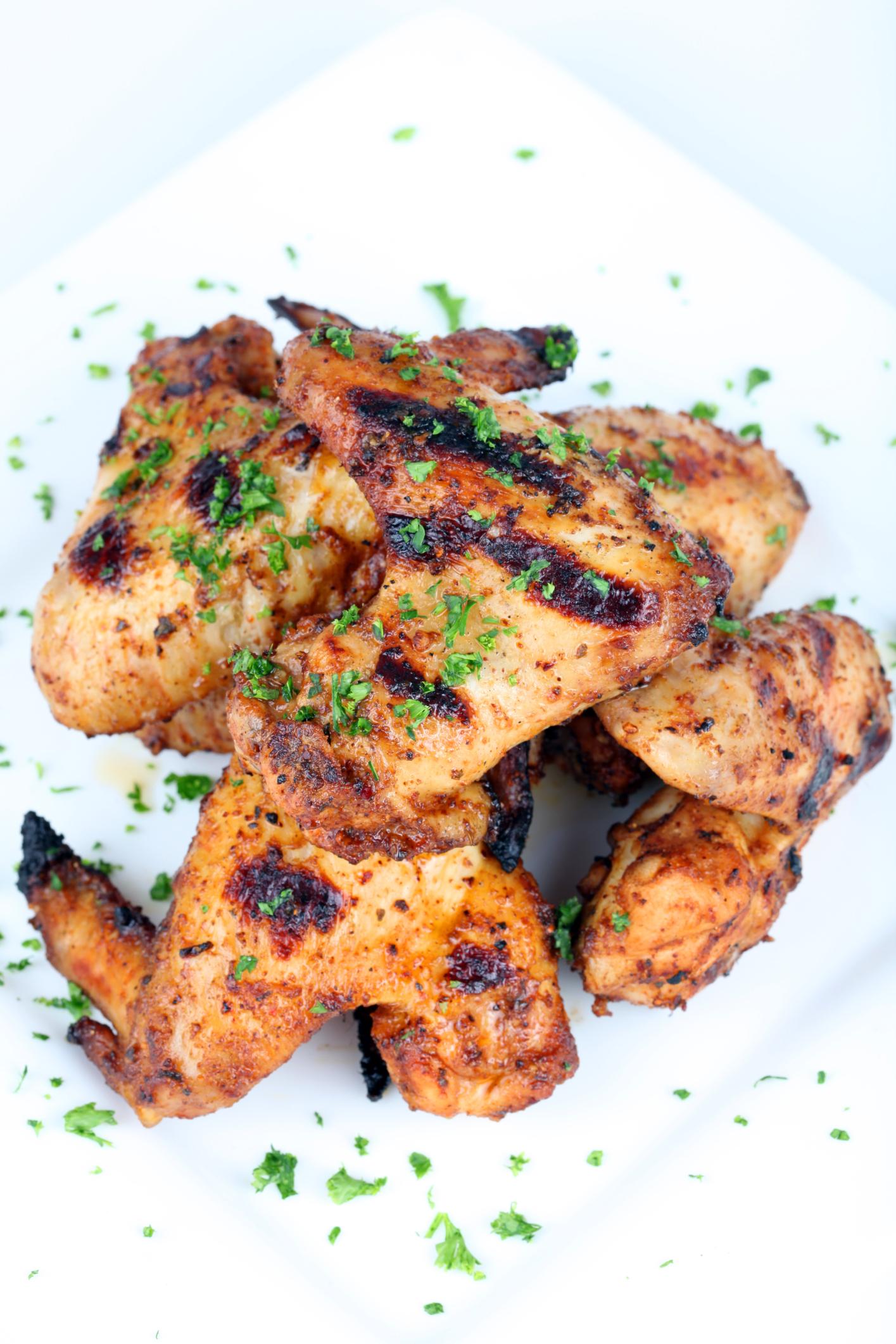 Alitas de pollo fáciles