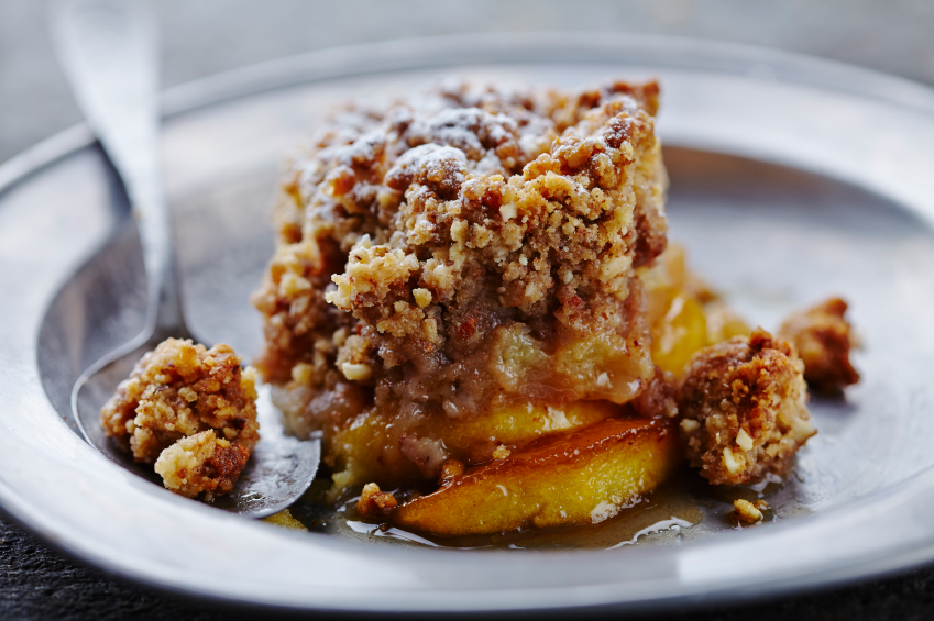 Apple crumble o crispy