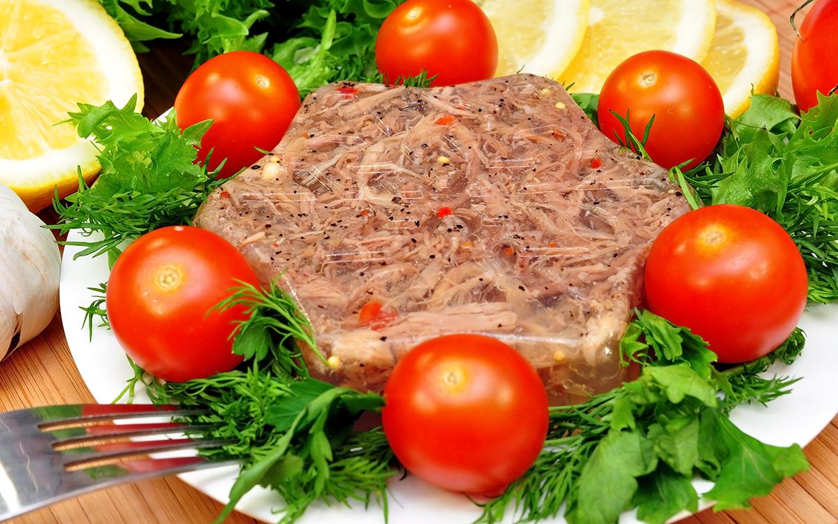 Aspic de carne