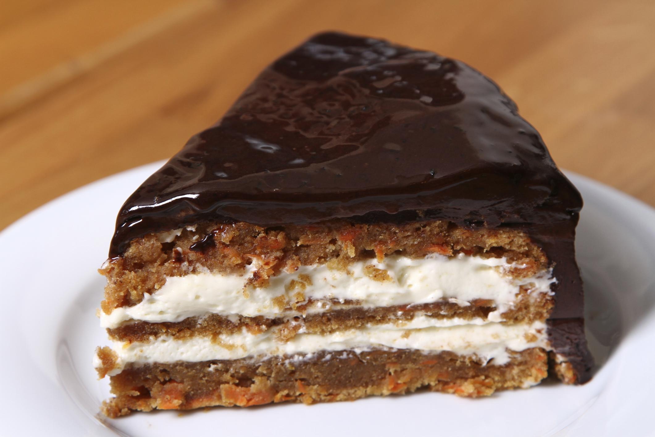 Baño de chocolate cremoso para tartas