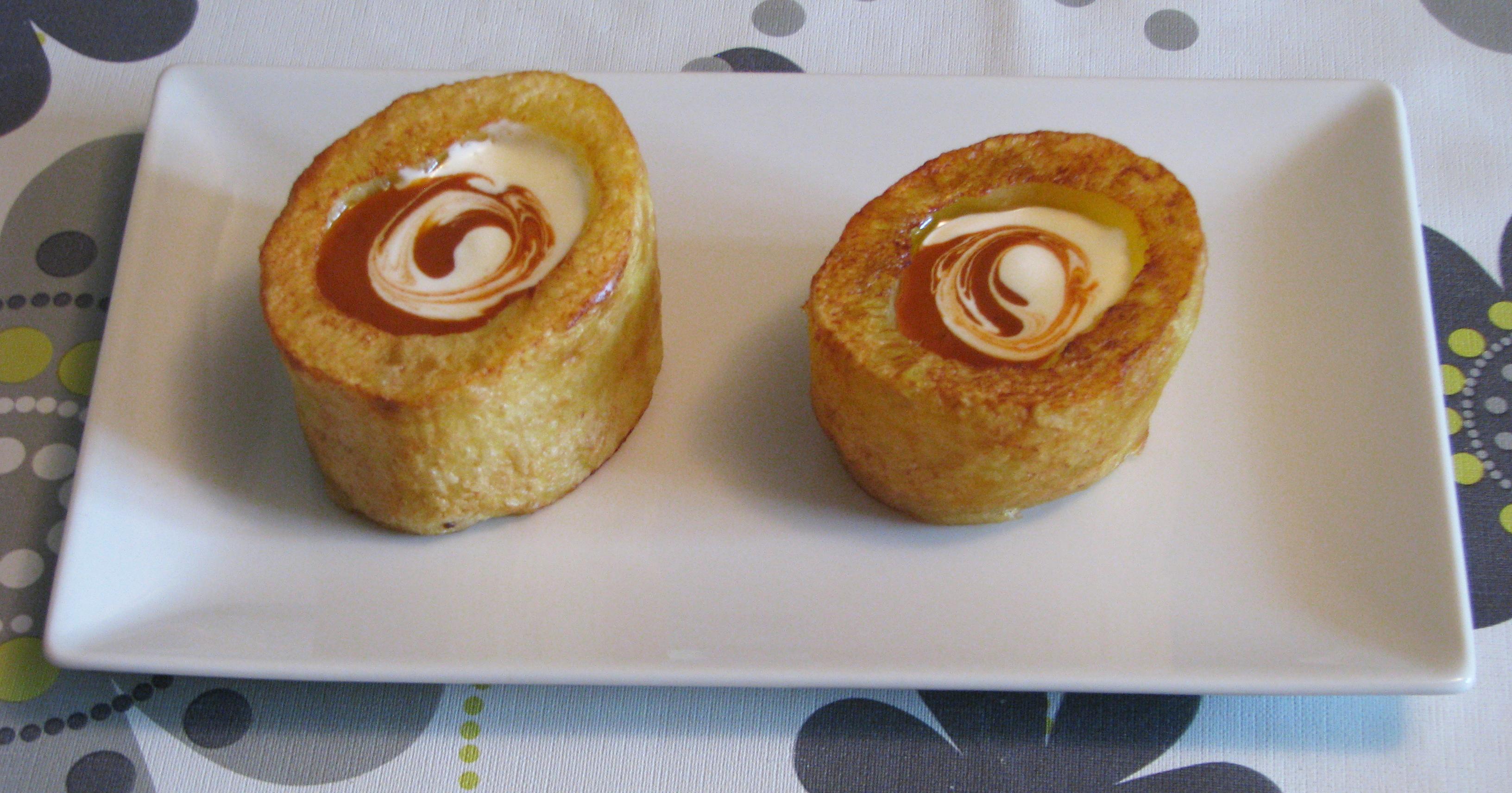 Barquitas de patatas bravas