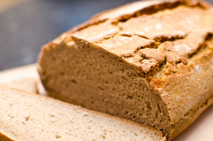 Barra de pan de centeno