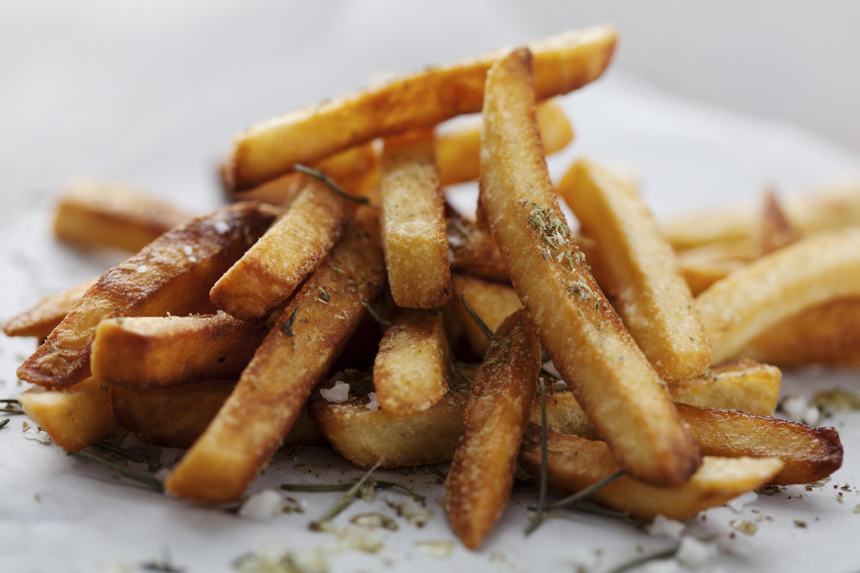 Patatas fritas picantes