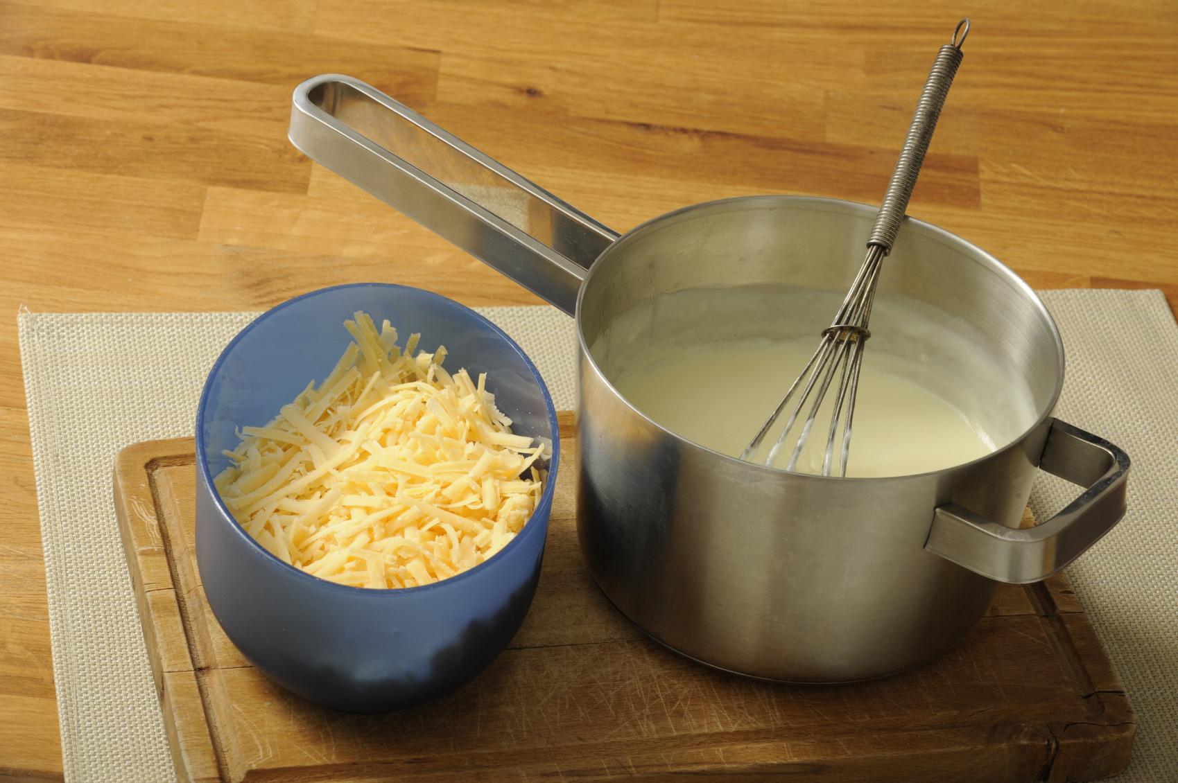 Bechamel con queso