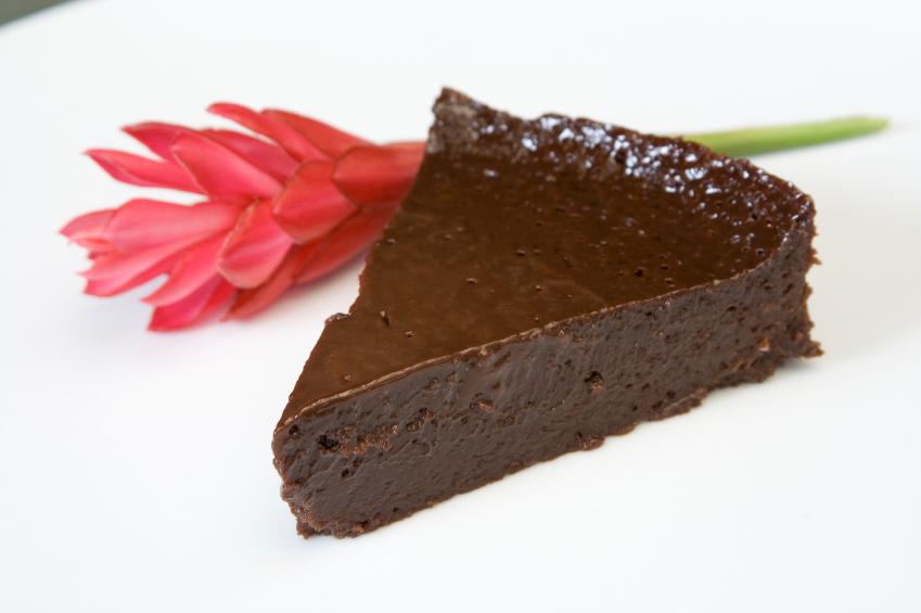 Bizcocho al chocolate sin harina
