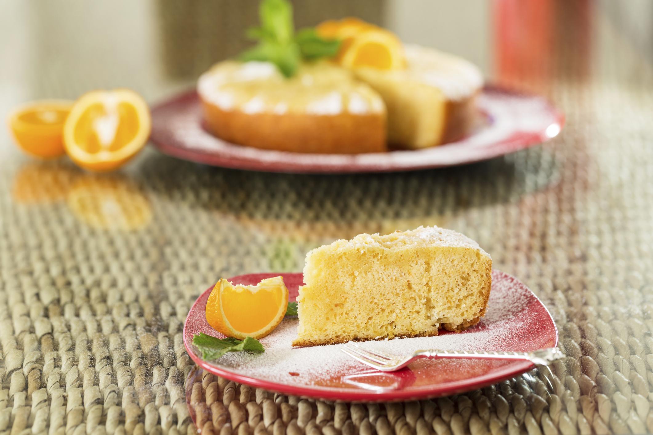 Bizcocho de naranja-receta de usuario