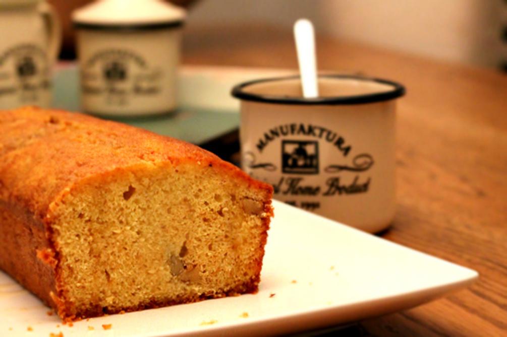 Bizcocho de nueces y miel (Hummingbird Bakery)