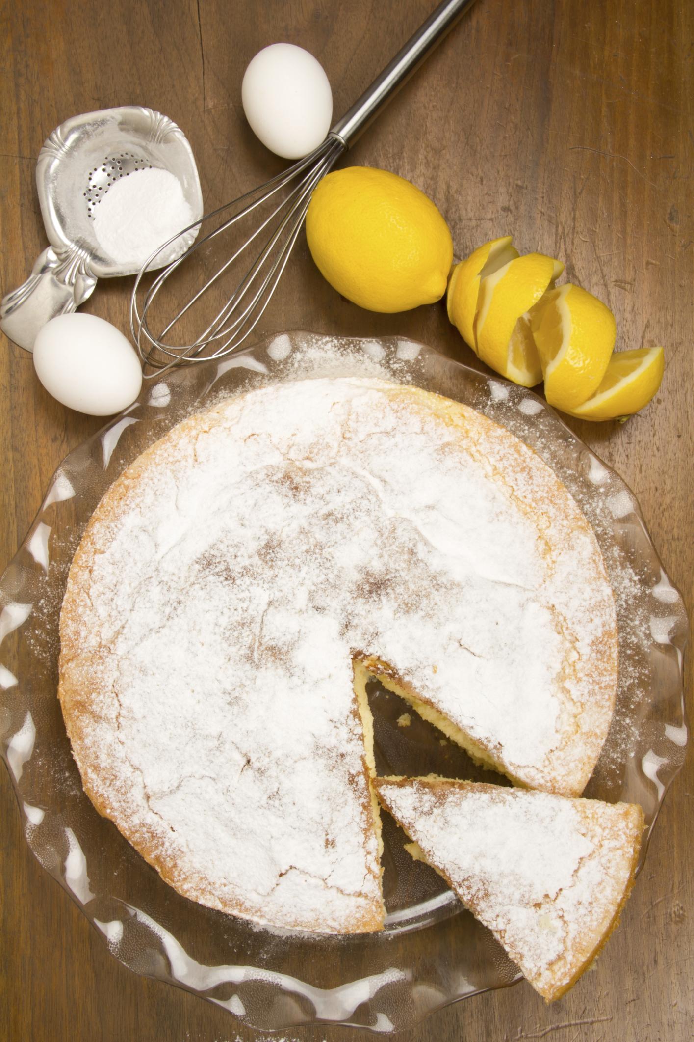 Bizocho de limón