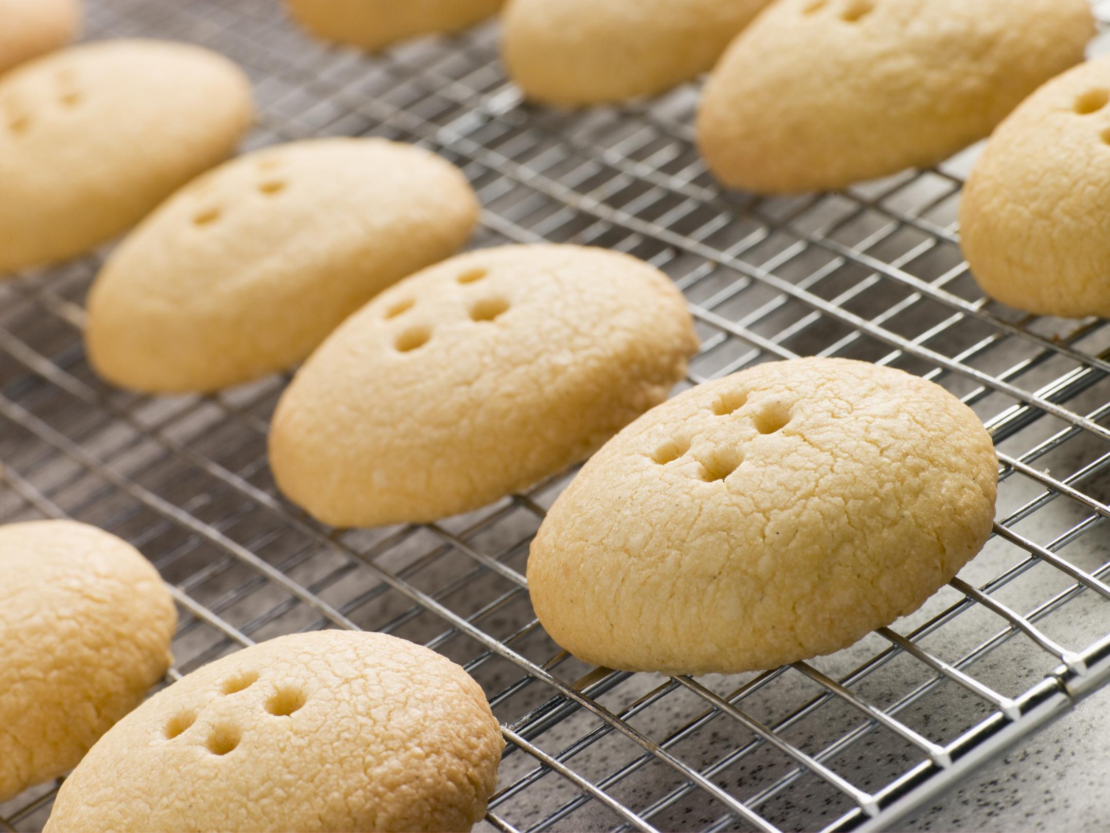 Botones de galleta