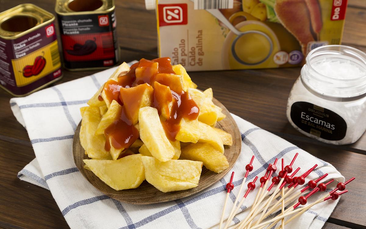 Patatas bravas auténticas de Madrid