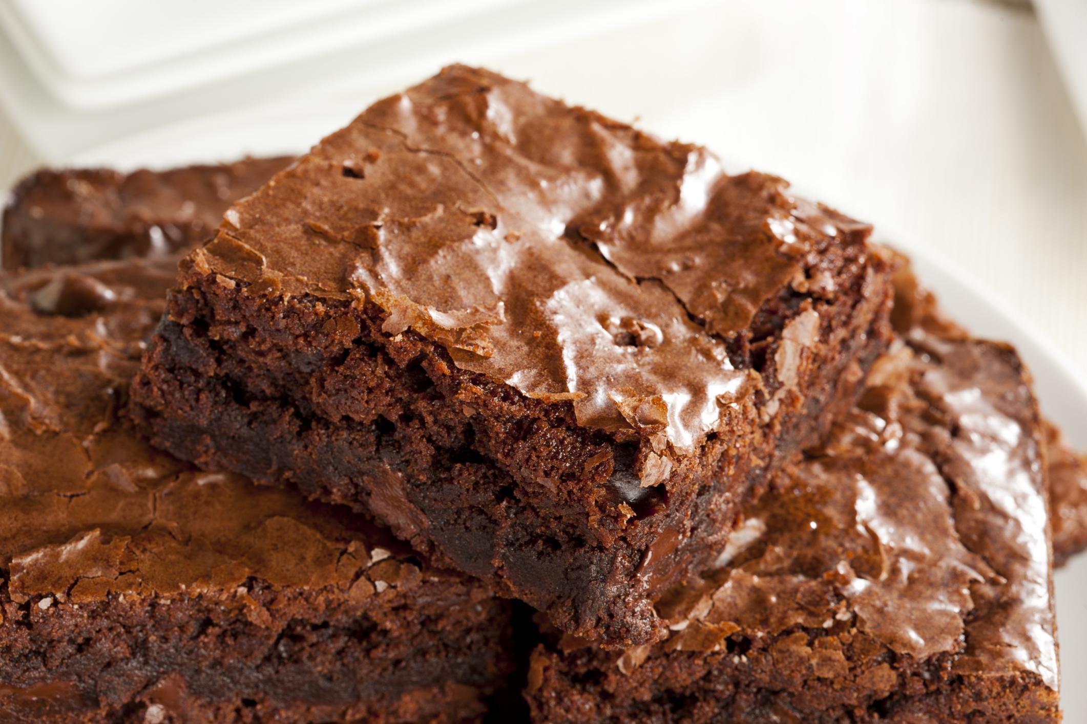 Brownie de chocolate con o sin nuez