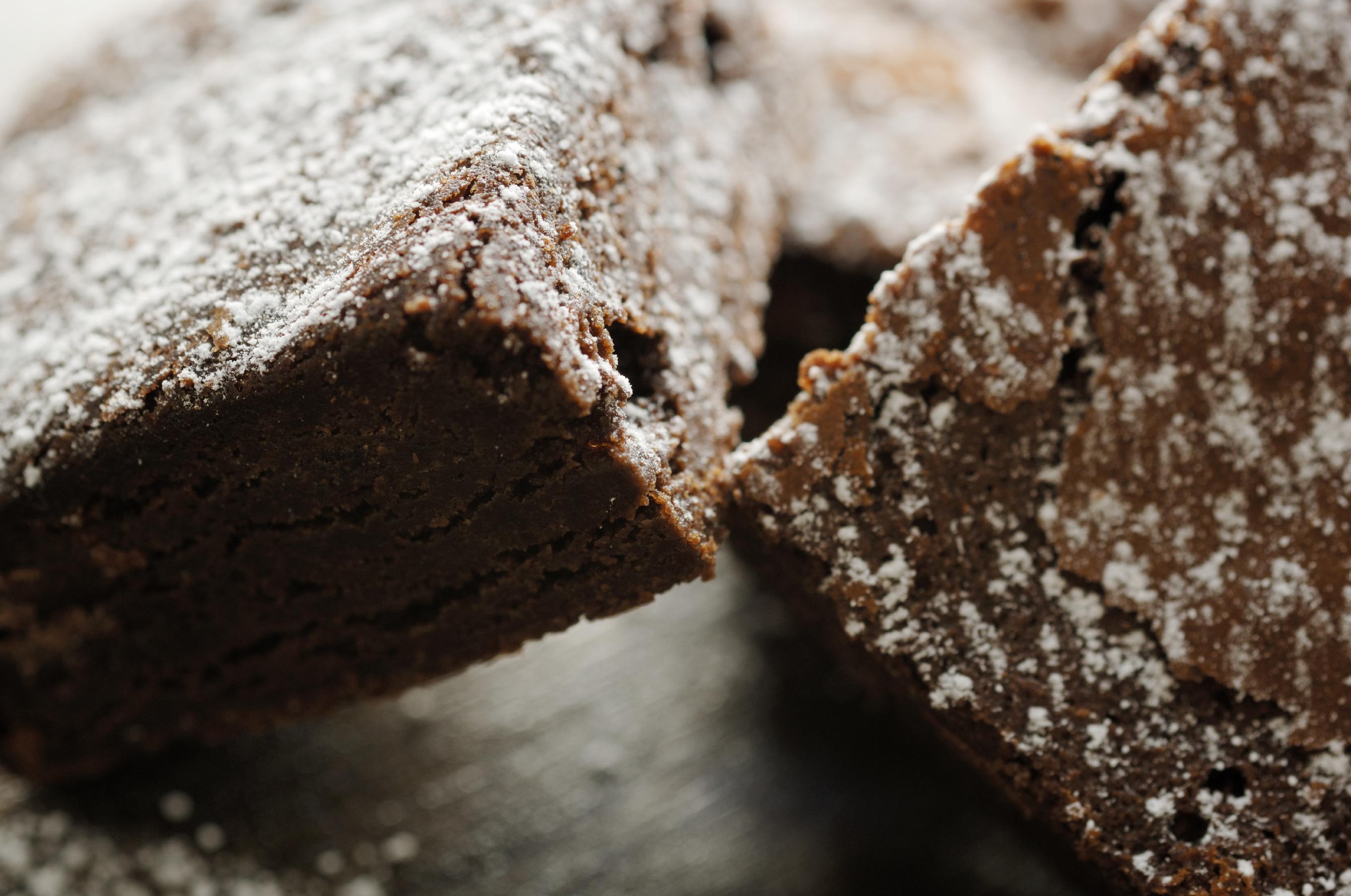 Brownie de doble chocolate