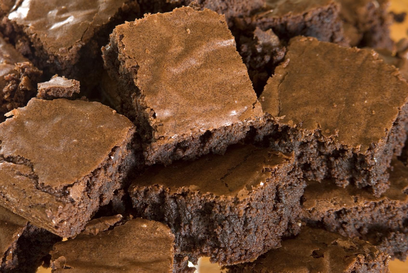 Brownies sin nuez