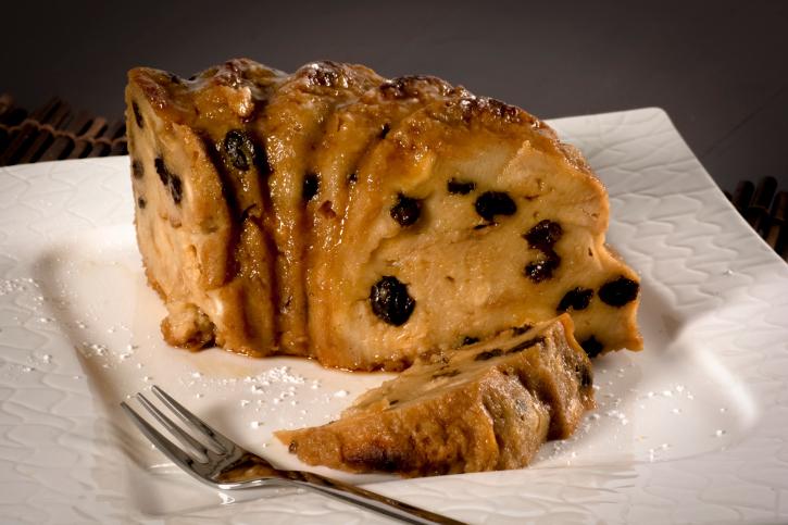 Budín ligero de pan
