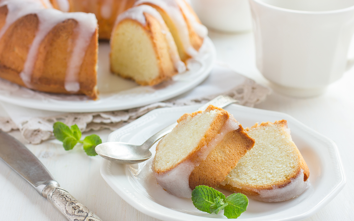 Bundt cake glaseado