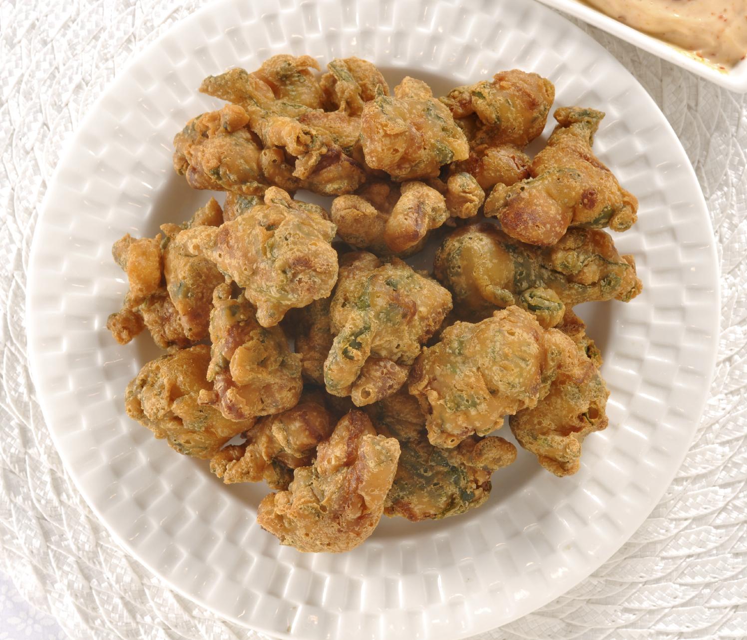 Buñuelos de acelga y brócoli