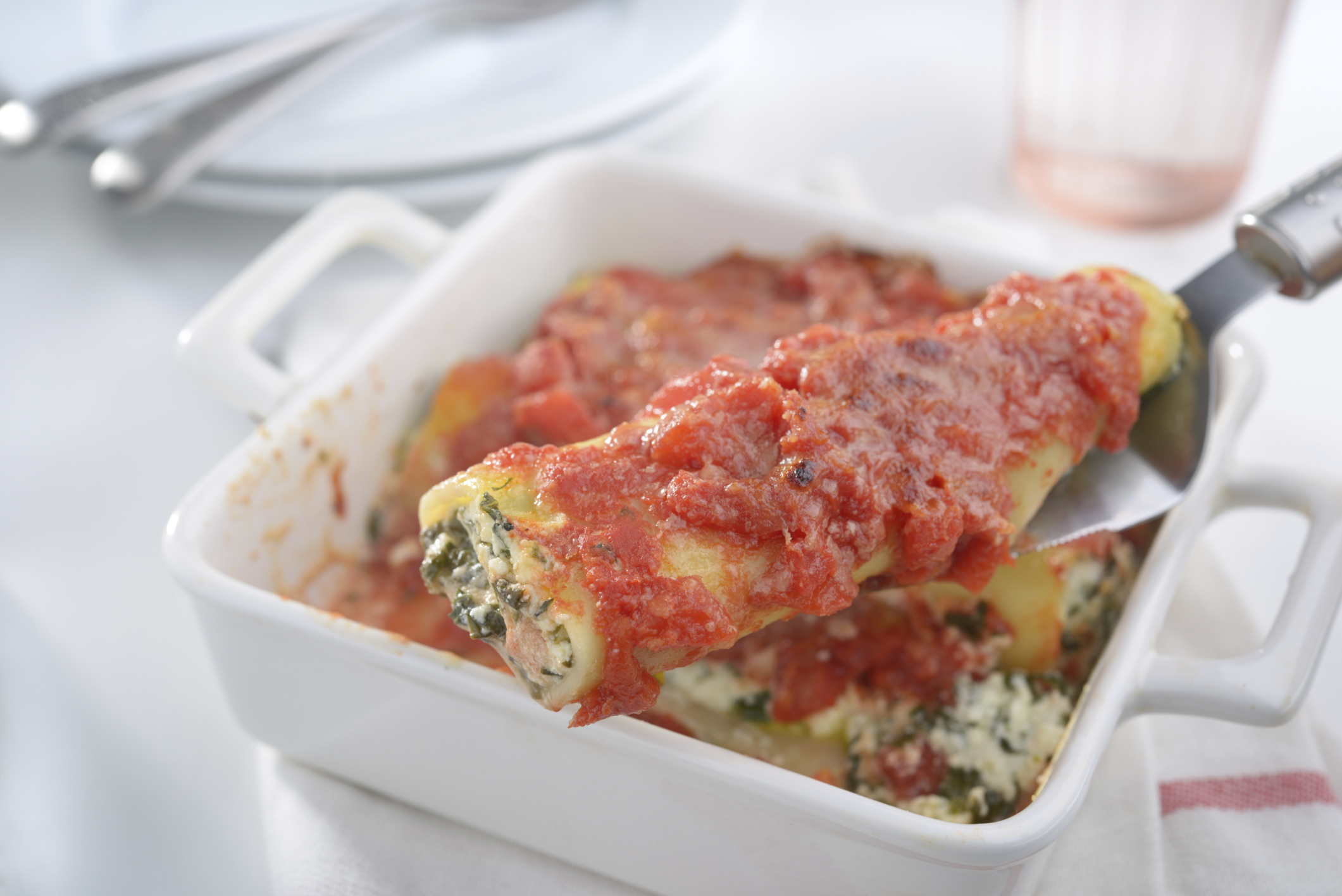 Cannelloni Rellenos