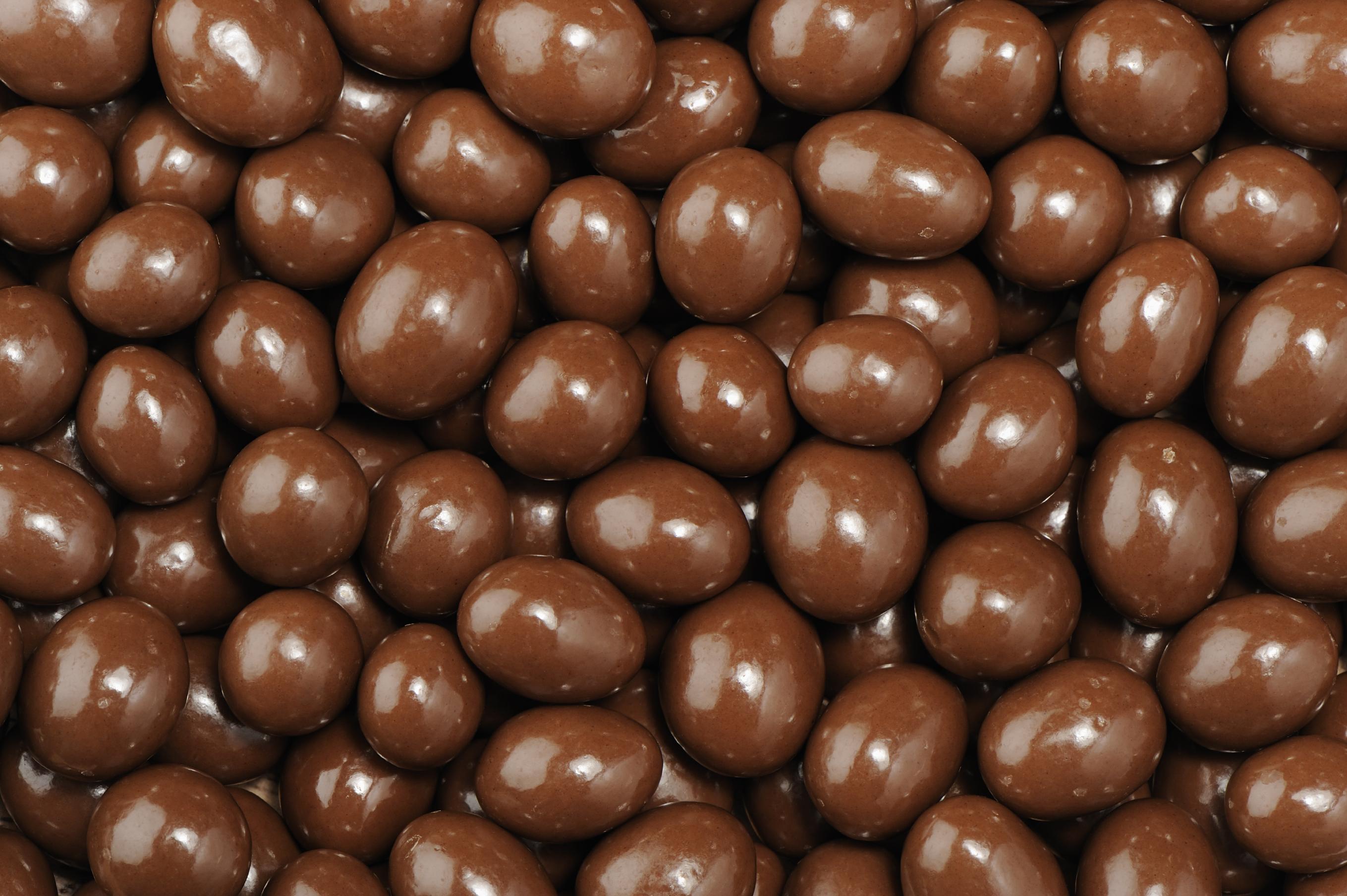 Caramelos caseros de chocolate