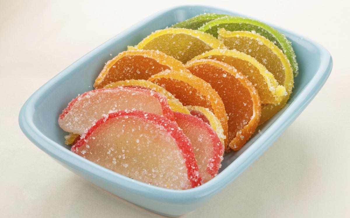 Caramelos de frutas