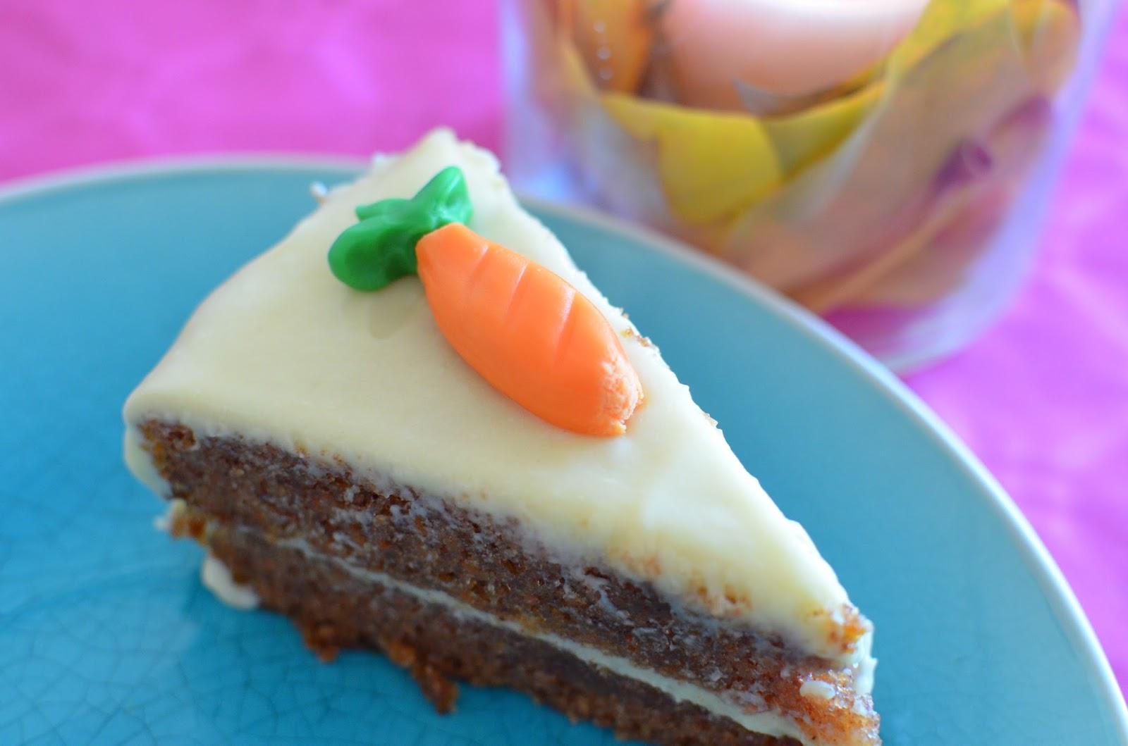 Carrot cake - receta de usuario