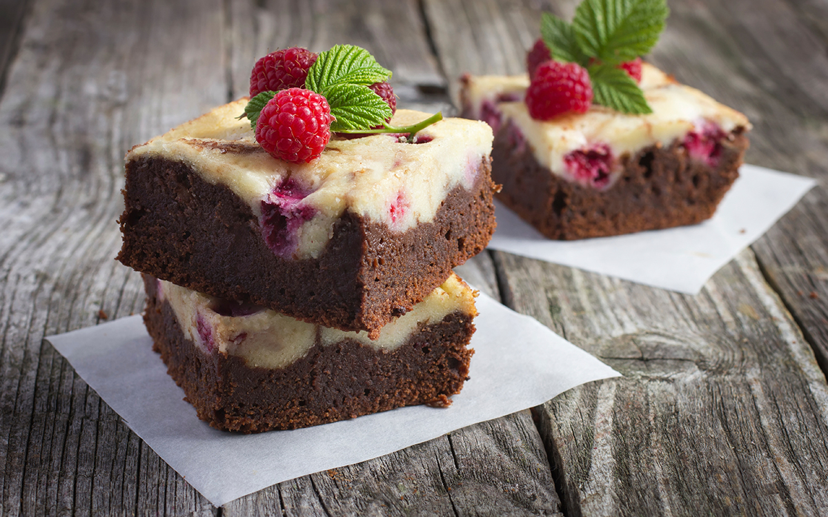 Brownies de cheesecake