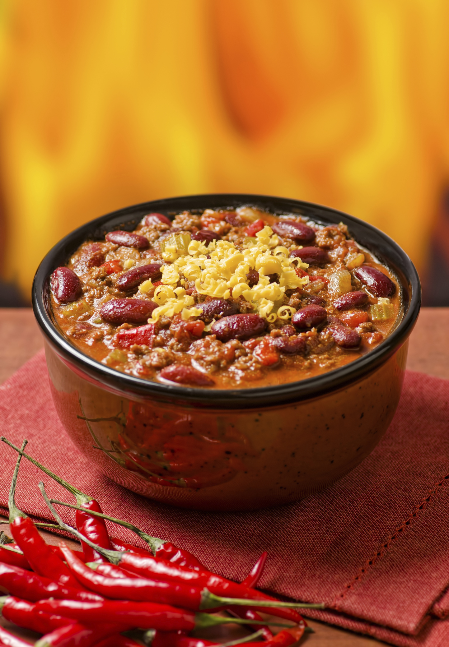 Receta de chili con carne exquisita