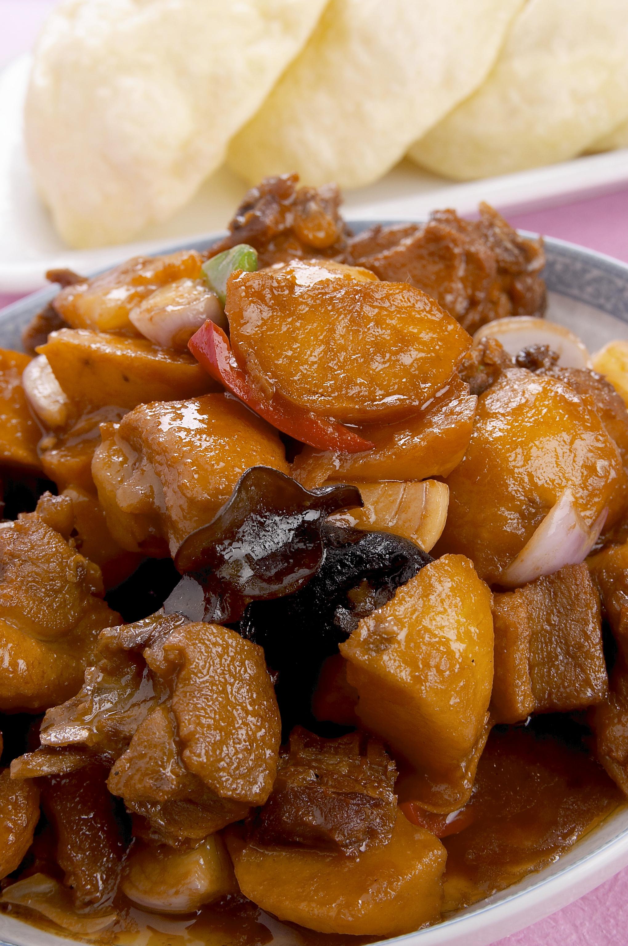 Chop suey de chuleta ahumada