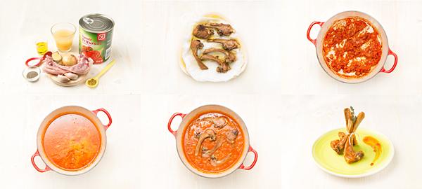 Chuletitas de cordero al curry