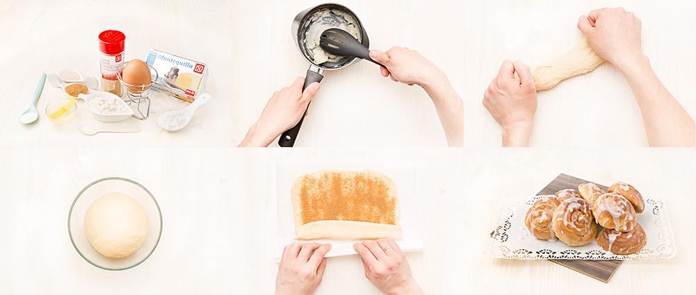 Cinnamon rolls o pan de canela