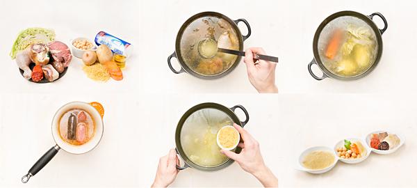 Cocido madrileño 'fácil'
