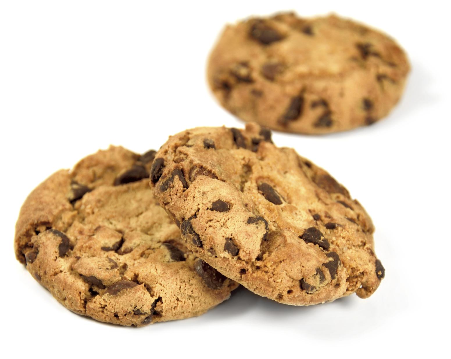 Cookies con chocolate sin gluten