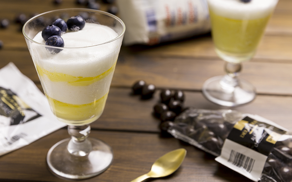 Mousse de limón con merengue