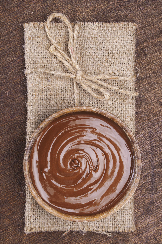 Crema de chocolate con dulce de leche