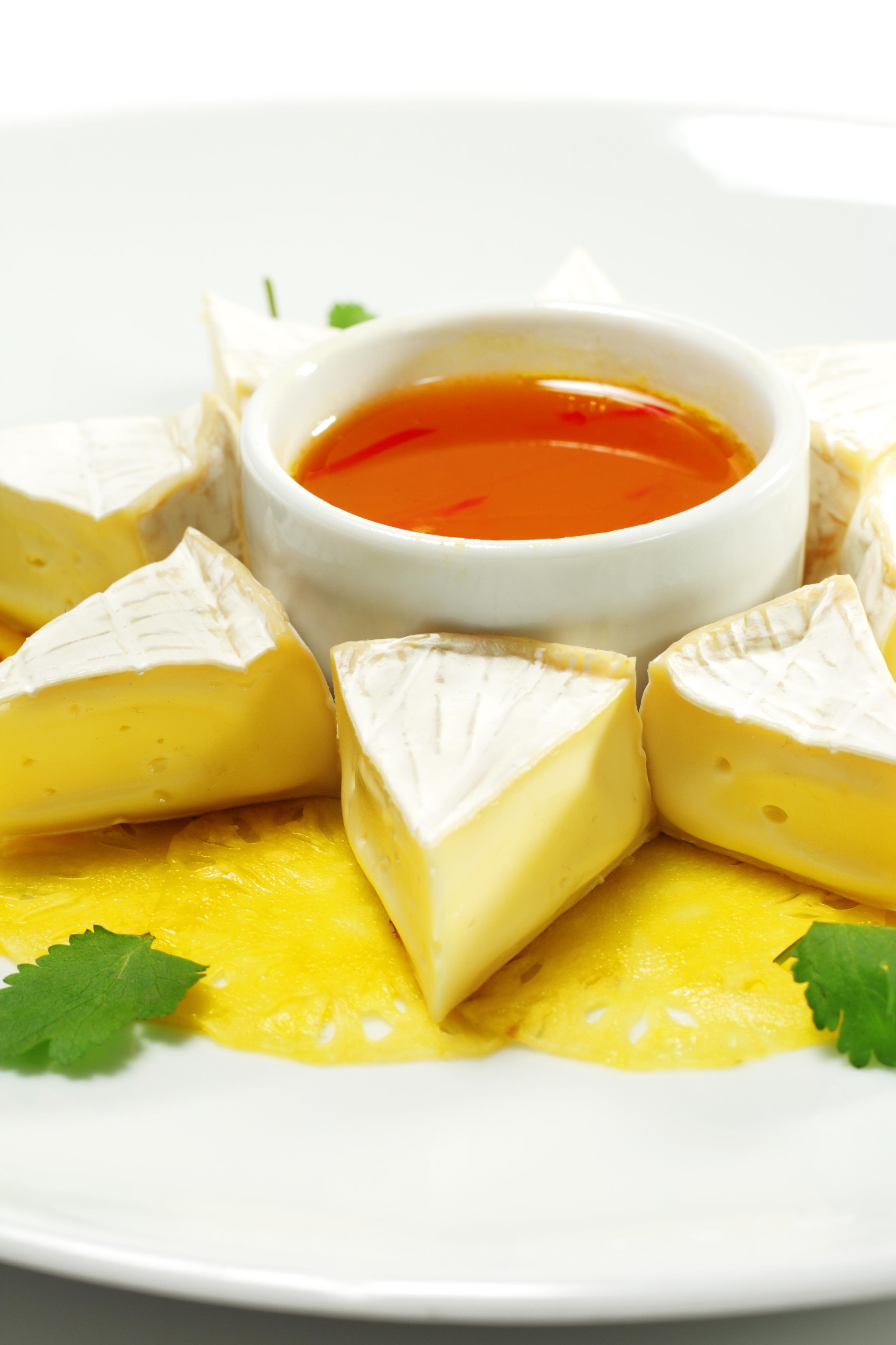 Crema de naranja para acompañamiento o rellenos